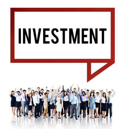 profit celebration: Investment Economy Financial Investing Income Concept