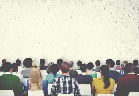 プレゼンテーション視聴者概念の学習会議会議人