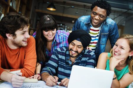 diversidad: Arquitecto Diverse Concepto Grupo de Trabajo