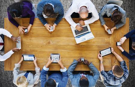 Communication Connection Digital Devices Technology Concept Banque d'images