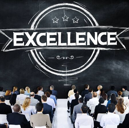 Exellence Ability Intelligence Perfection Proficiency Concept Stock Photo