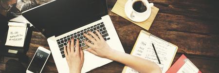 finding: Mujer de negocios de Trabajo de Planificaci�n Ideas Concept Foto de archivo