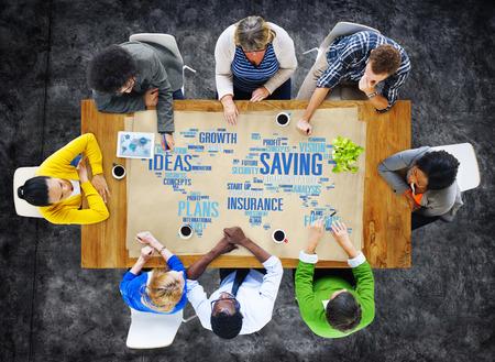 global savings: Saving Finance Global Finance World Economy Concept