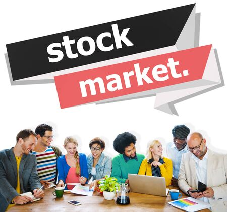 money market: Stock Market Economic Finance Exchange Concept