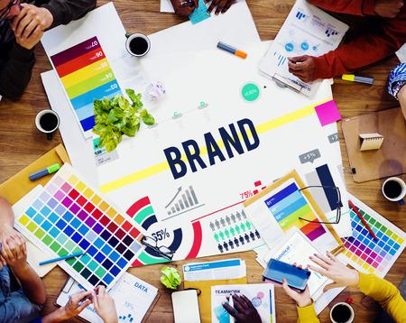 ブランド ブランド ビジネス広告バッジ バナー コンセプト