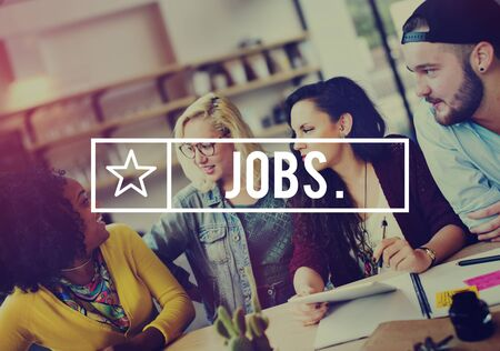 job occupation: Jobs Employment Career Occupation Application Concept