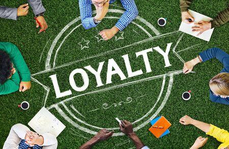 Loyalty Values Honesty Integrity Honest Concept