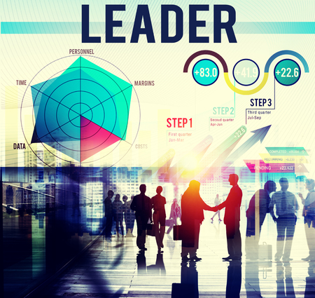 Business leadership concept Stock Photo