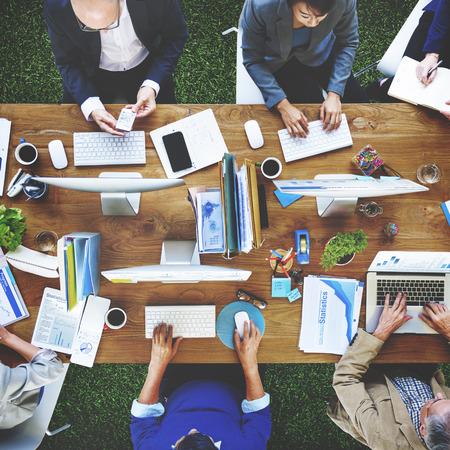 Business Concept Persone Tecnologia Ufficio di lavoro