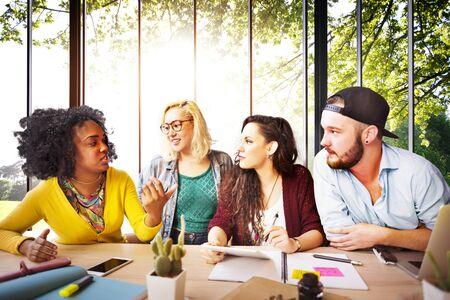 diversidad: Concepto Diversidad Amigos Equipo Lluvia Comunidad
