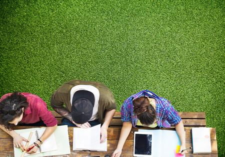 Studenten studeren Learning Education Community