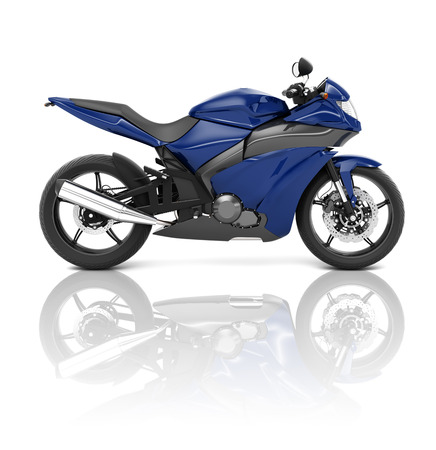 roadster: Motorbike Motorcycle Bike Roadster Transportation Concept Stock Photo