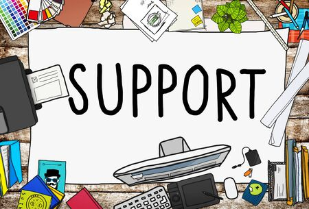 Support Teamwork Advice Assistance Togetherness Concept
