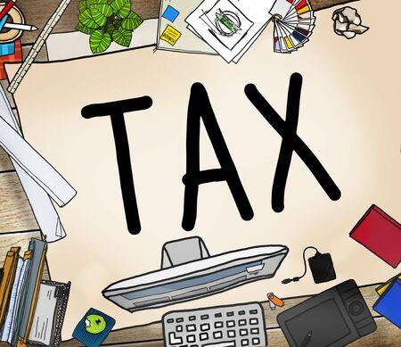 refund: Tax Taxation Refund Return Exemption Income Concept