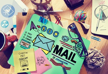 address: Mail Message Inbox Letter Communication Concept