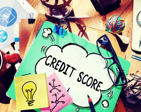 credit score: Credit Score Financial payment Rating Budget Money Concept
