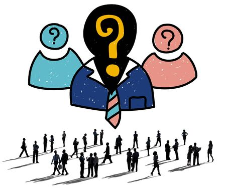 recruitment: Human Resources Job Employment Occupation Recruitment Concept