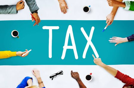 taxation: Tax Taxation Audit Refund Accounting Concept