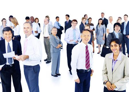 ビジネス人企業作業 Colleauges グループ 写真素材