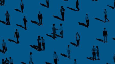 hombres maduros: Grupo de comunicación de la gente la diversidad Concepto Comunidad