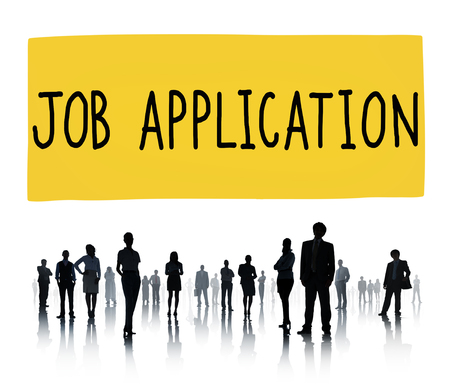job search: Job Application Career Employment Concept Stock Photo