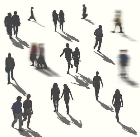 casual business man: Diverse Diversity Ethnic Ethnicity Team Partnership Concept Stock Photo