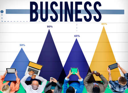 growth opportunity: Business Growth Opportunity Enterprise Firm Concept Stock Photo
