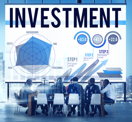 margins: Investment Budget Business Costs Finance Concept