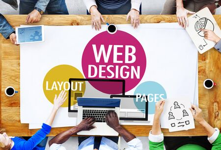 creative idea: Web Design Content Creative Website Responsive Concept