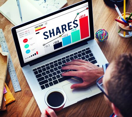 organisational: Shares Sharing Shareholder Corporate Concept