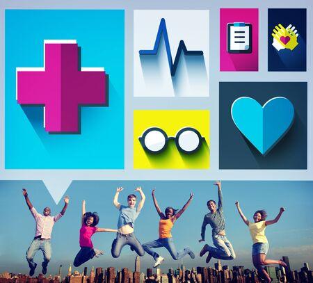 check up: Healthcare Check Up Medical Examination Concept Stock Photo
