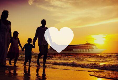 siluetas de enamorados: Love Like Devoción pasión afecto romántico Joy Life Concept