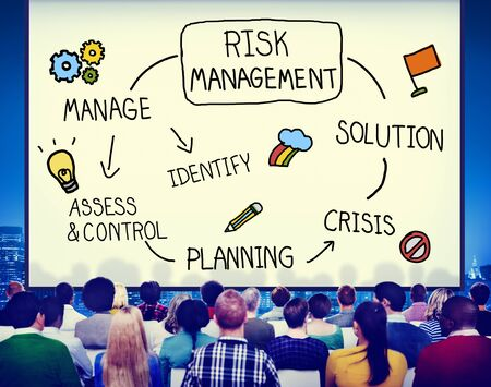solution: Risk Management Solution Crisis Identity Planning Concept Stock Photo