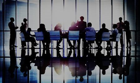 Concetto di Team Collaboration Business Collaboration Conference Seminar Archivio Fotografico - 47095126