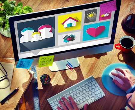 internet safety: Family Love Home Parenting Relationship Concept