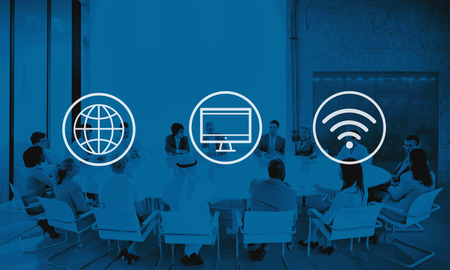 alrededor del mundo: Global Digital Mundial Moderno Concepto Conexión