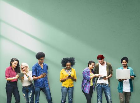 conexiones: Colegas Conexión Estudiantil Relación Equipo Concepto