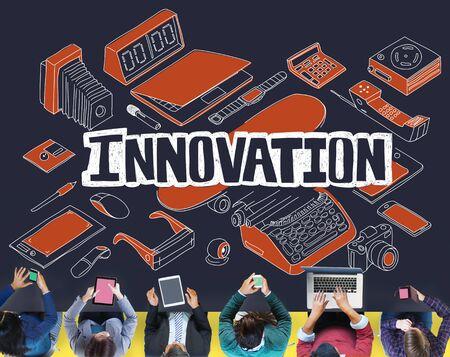 modernization: Innovation Future Improvement Technology Modernization Concept