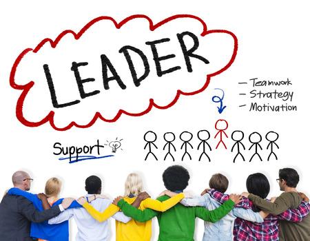 liderazgo: L�der de Estrategia Trabajo en equipo Motivaci�n Concepto Soporte