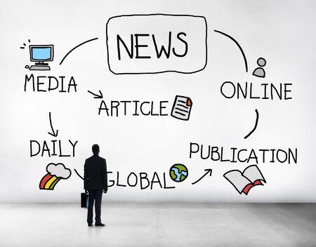 Aktuelles Publikationen Online Artikel Media Concept