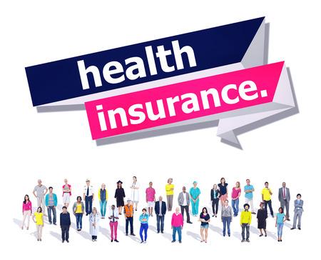 Protección de la Salud del Seguro de Riesgos Evaluación de Garantía de Concepto Foto de archivo - 47094198