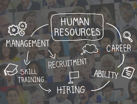 skills diversity: Human Resource Employment Job Recruitment Profession Concept