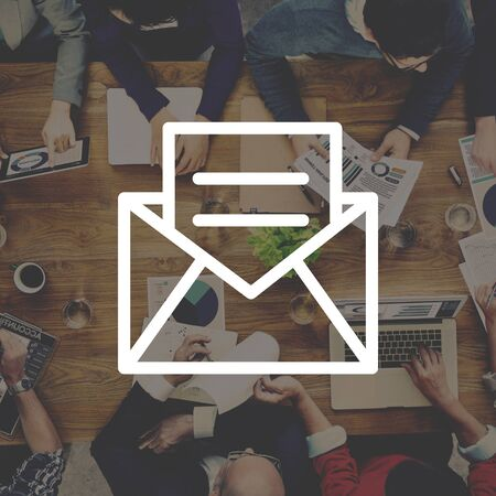 email: Email Message Icon Communication Letter Concept