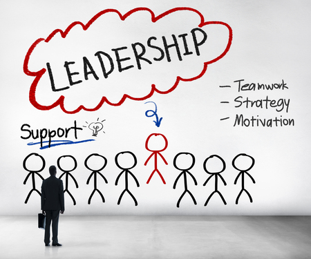 business leader: Lead Leadership Chief Team Partnership Concept