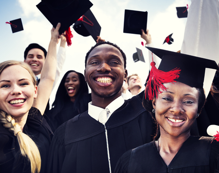 graduation cap and diploma: Celebration Education Graduation Student Success Learning Concept