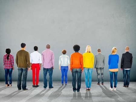 etnia: Diverse Diversity Ethnic Ethnicity Unity Variation Concept Foto de archivo