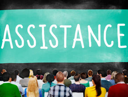 ambition: Assistance Ambition Help Support Partnership Concept