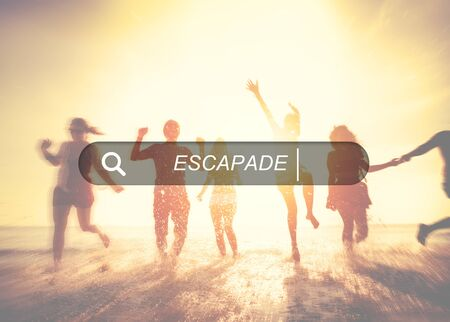 group search: Escapade Journey Dream Freedom Travel Adventure Concept