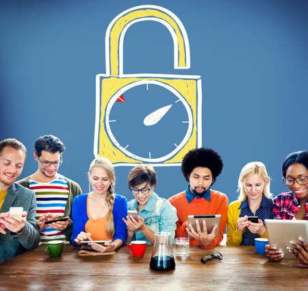 stipt: Time Unlock Alarm Clock Punctual Stopwatch Concept