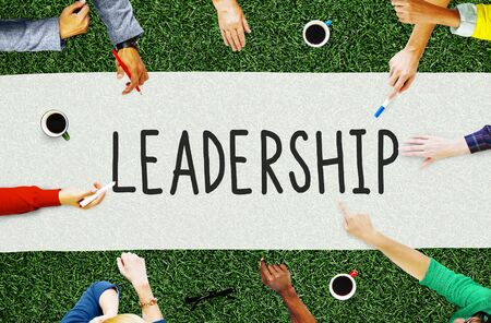 leading education: Leadership Leader Management Coaching Concept